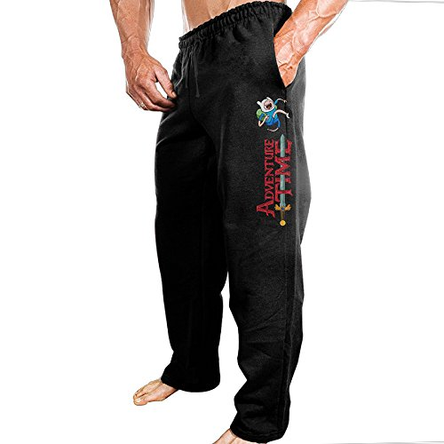[TONGY Men's Adventure Animated Television Series Time Comfortable Leisure Cool Sweatpants Leisure Wear Size L] (Bay Watch Costumes)