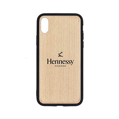 (Logo Hennessy Cognac - iPhone Xs Case - Maple Premium Slim & Lightweight Traveler Wooden Protective Phone Case - Unique, Stylish & Eco-Friendly - Designed for iPhone Xs )