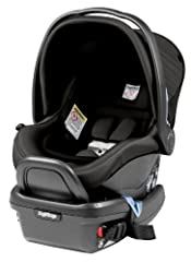 "Primo viaggio 4/35 rear facing infant car seat takes the Peg Perego experience in child restraint systems to a new and improved level of safety and design. This car seat will accommodate a baby from 4 to 35 pounds and up to 32"" tall. The adju..."