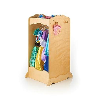 Guidecraft Dress Up Cubby Center - Armoire, Dresser Kids' Furniture