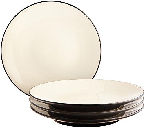 Noritake Colorwave Graphite Mini Plates, 6-1/4-inch, Set of 4