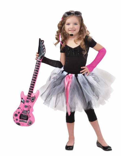 Forum Child Rock Star Tutu (Rock Star Girl Costume)