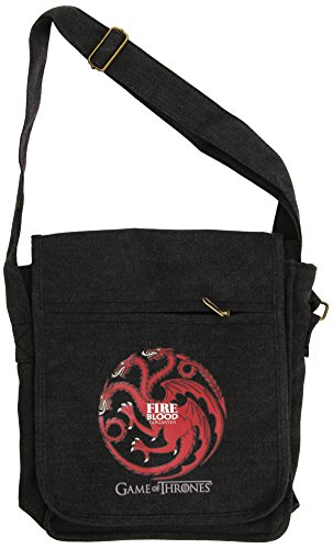 GAME OF THRONES Messenger Bag Targaryen Small Size by Game of Thrones
