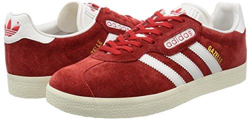 Para Rojo red Gazelle Zapatillas Super Adidas Met gold vintage White Hombre st CwfXtxq