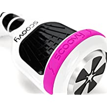Scoovy Protective Bumpers for Hoverboard and 2 Wheel Self Balancing Scooter, Silicon protection for your hoverboard