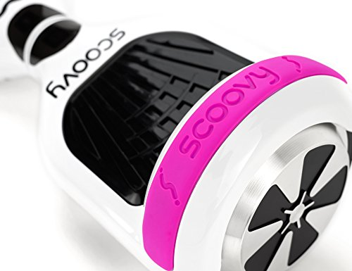 Protective Scoovy Pink Replacement Bumper for Hoverboard / 2 Wheel Self Balancing Scooter - One Pair