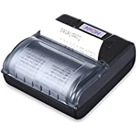 HOP - E300 80mm thermal portable printer wireless bluetooth printer thermal printer black EU plug