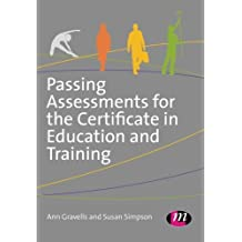 Amazon ann gravells books biography blog audiobooks kindle passing assessments for the certificate in education and training by ann gravells 2014 05 fandeluxe Gallery