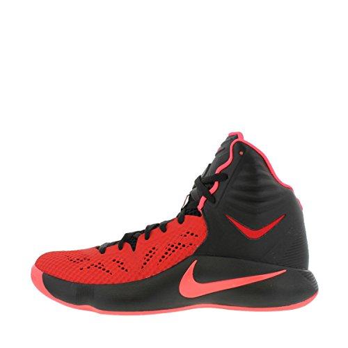 Nike - Zapatillas para hombre Black/Hyper Punch/University Red