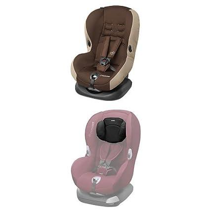 Maxi-Cosi Priori SPS Plus Kindersitz mit optimalem Seitenaufprallschutz und 4 Sitz- und Ruhepositionen, cave, Gruppe 1 (ab 9 Monate bis ca. 4 Jahre, 9-18 kg) mit Kopfpolster Dorel