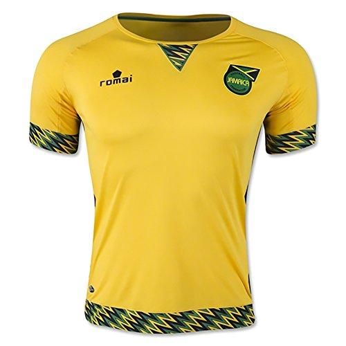 Romai Jamaica 2015 Home Soccer Jersey XL