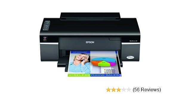 Amazon Com Epson Workforce 40 Wireless Color Printer C11ca27201 Electronics