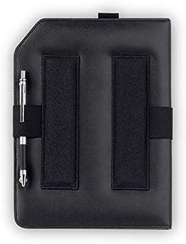 Design4Pilots Piloten-Kniebrett Rookie A5 schwarz mit breiter Klettbandhalterung