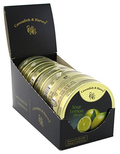 - Cavendish & Harvey Lemon Sour Drops 1.75oz (7 Pack)