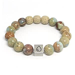 Good Impressions Essential Oil Diffuser Bracelet: Premium, Handcrafted Aromatherapy Lava Bead Bracelet