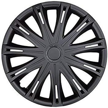 SUMEX VNJB717 Car Plus Alabama Sac - Tapacubos (17 Pulgadas, Abs, 4 Unidades), Color Negro: Amazon.es: Coche y moto