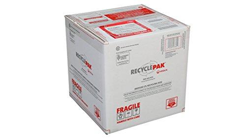 (Veolia Environmental Services SUPPLY-192 Recycle Pak Prepaid Medium CFL Recycling Box, 15 x 15 x 15