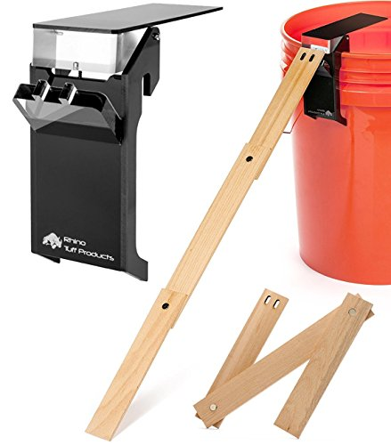 Rhino Tuff Products - Walk The Plank Mouse Trap, Humane Mouse Trap, Mouse Traps That Work - Ramp Included