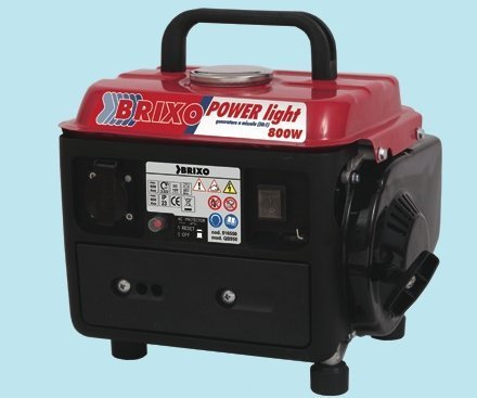 Generator-Generator Brixo Powerlight 800W-63CC-cm.38x 32x 33