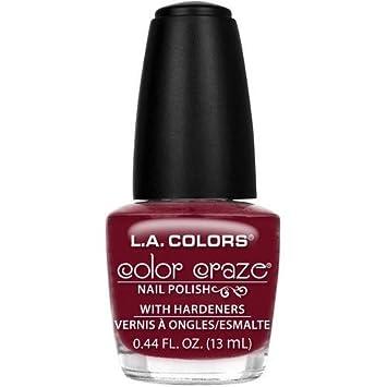 Amazon.com: L.A. Colors Color Craze Nail Polish - TRANSFORMER NP411 ...