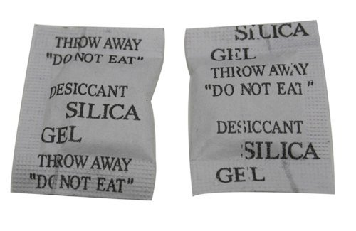 Chuzhao Wu 1 Gm Silica Gel Desiccant Pouches Sachets Sacked(Pack Of (Optical Gel)