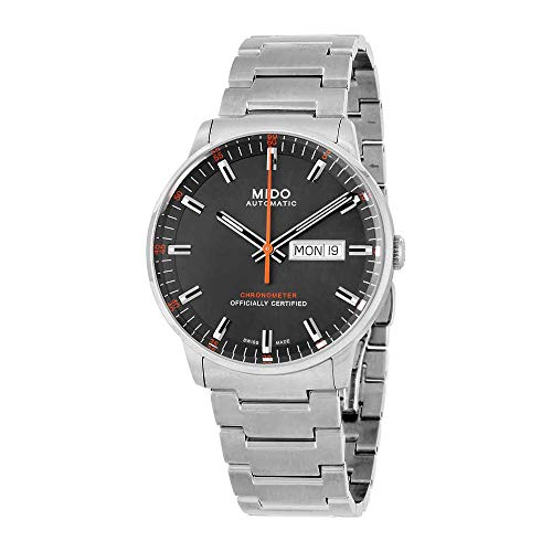 Mido Commander II Grey Automatic Analog Men's Watch MD M021.431.11.061.01