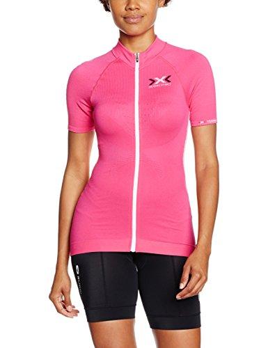 Kanirope Camiseta Para Rosa X En Función Sl De Ropa blanco Ow Ciclismo Trick bionic The Zip Mujer Adultos La Full xOO6R8