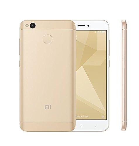 "Xiaomi Redmi 4X 32GB Gold, 5"", Dual Sim, 13MP, GSM Unlocked Global Model, No Warranty"