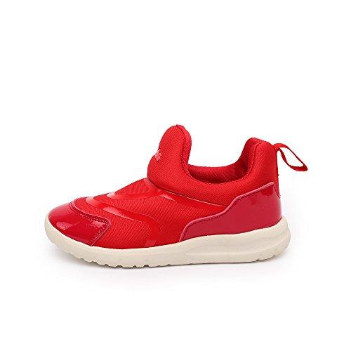 VILOCY Babyschuhe Mädchen Jungen Lauflernschuhe Sneaker Trainer Schuhe Rot EU25