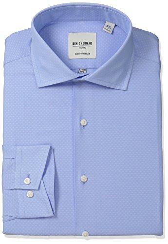 ben-sherman-mens-slim-fit-diamond-dobby-spread-collar-dress-shirt-light-blue-white-165-neck-32-33-sl