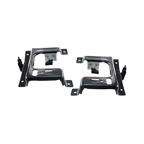 - Bumper Bracket compatible with Ford F-150 06 Front Right and Left Side Set of 2 Steel