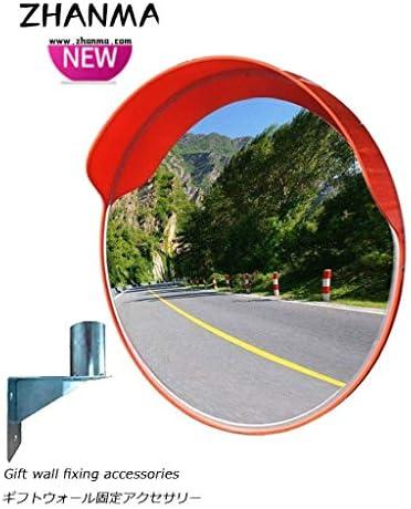 カーブミラー 取付金具を含めマウントアクセサリ45センチメートル60センチメートル80センチメートル100センチメートル、ラウンド屋外凸面鏡広角道路交通ミラー防水球面鏡 RGJ4-23 (Size : 1000mm)