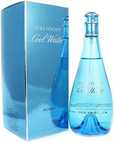 Cool Water By Davidoff For Women Edt Spray 6.7 Oz