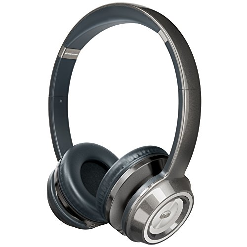Monster NTune On-Ear Headphones - Pearl Grey