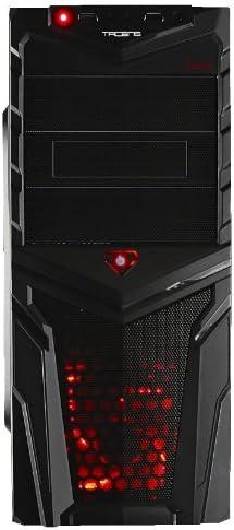 Tacens Mars Gaming - Caja de Ordenador de sobremesa (3.5 mm, 2 x USB 2.0), Negro: Amazon.es: Informática