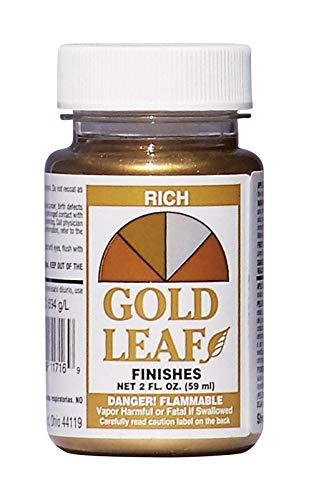 SHEFFIELD BRONZE 1716 2OZ Ric GLD Leaf Finish ()