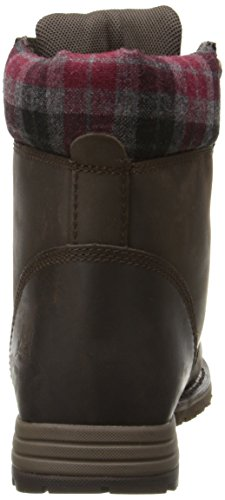 Caterpillar Women's Kenzie Steel Toe Work Boot, Bark, 9 M US by Caterpillar (Image #2)