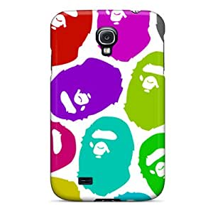 Samsung Galaxy S4 IGW9590AejV Custom Colorful Bape Pictures Bumper Hard Phone Cover -ColtonMorrill