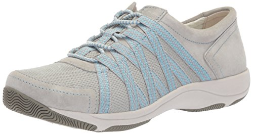 Dansko Women's Honor Sneaker, Grey Suede, 41 M EU (10.5-11 US)