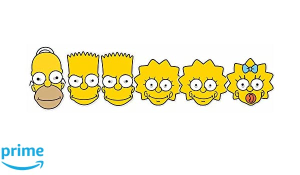 Star Cutouts smp354 Homer/lisa/Bart/Maggie Simpson máscara, mano/a: Amazon.es: Juguetes y juegos
