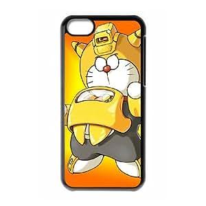 iPhone 5c Cell Phone Case Black Doraemon 4 Apain
