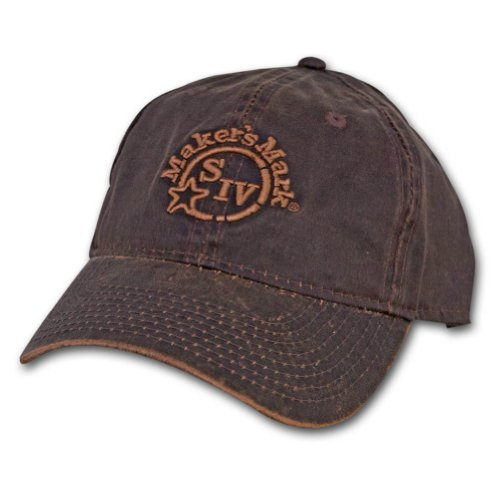 Baseball Cap Oilcloth (Makers Mark Oil Cloth Hat)