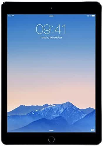 Apple iPad Air 2 MGLW2LL/A 9.7-Inch 64GB (Space Gray) (Certified Refurbished)