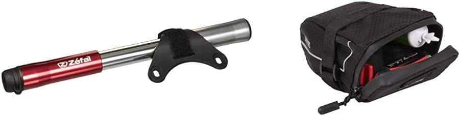 """Mini pompe ZEFAL Air Profil XL 230 mm 9/"""" Race Noir"""