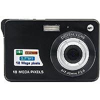 Mini Digital Camera,Bigaint 18MP 8x Digital Zoom Cameras with 2.7inch TFT LCD Display-Black