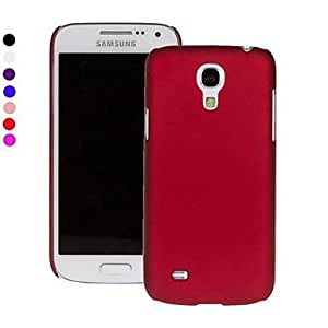 HJZ Pajiatu Hard Mobile Phone Back Cover Case Shell for Samsung Galaxy S4 Mini I9190 (Assorted Colors) , White