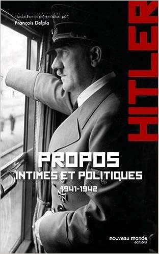 Télécharger en ligne Propos intimes et politiques pdf
