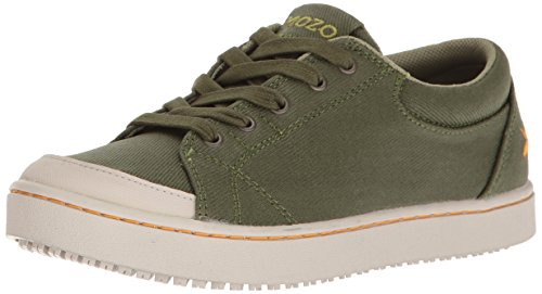 MOZO Women's Maven Food Service Shoe, Green, 8 B US by MOZO