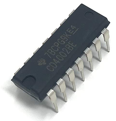 - Juried Engineering Texas Instruments CD4002BE CMOS Dual 4-Input NOR Gate Breadboard-Friendly (Pack of 5)