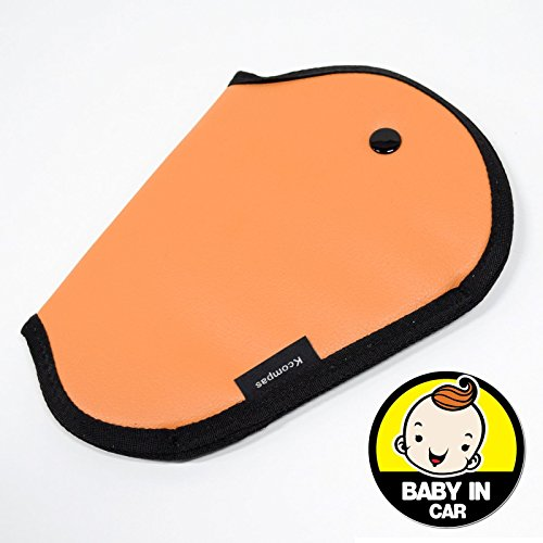 orange and blue car seats covers - 8
